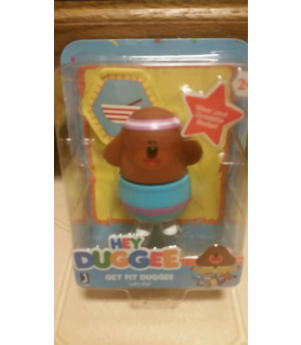 Hey Duggee GET FIT DUGGEE Let's Go! Figurine and Trophy