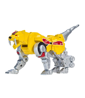 Power Rangers Mighty Morphin Sabertooth Tiger Zord Action Figure, Sabretooth Tiger Zord