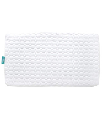 Biloban Toddler Waterproof Crib Mattress Pad Cover,Hypoallergenic,Machine Washable and Dryer Organic Fit Baby Bed Mattress Protector( Standard Size 52 x 28