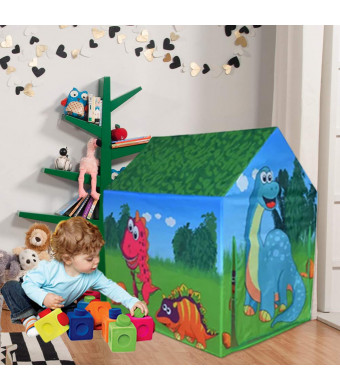Ancaixin Kids Play Tents Toys Fordable Pop Up Castle Playhouse with Gift Box for Girls Boys Baby Toddler Indoor and Outdoors 4037.428.3.