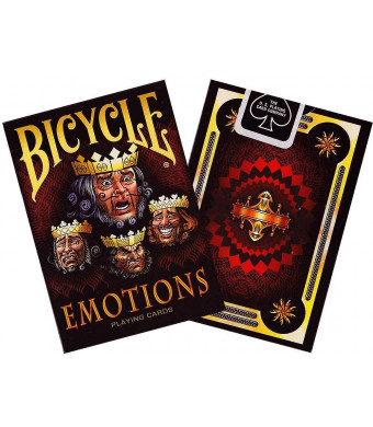 Bicycle Emotions Playing Cards 1 Deck