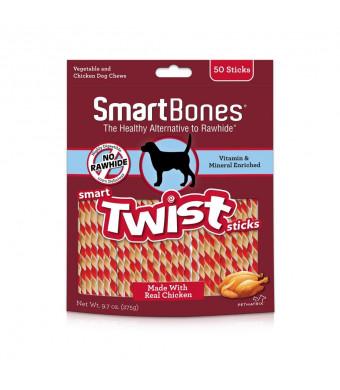 SmartBones Smart Twist Sticks Chews for Dogs, Rawhide-Free