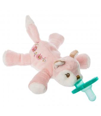Mary Meyer Wubbanub Soft Toy and Pacifier, Itsy Glitzy Fox