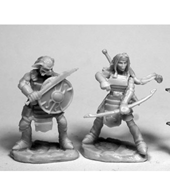 Reaper Miniatures Hobgoblin Warriors #77476 Bones Unpainted Plastic Mini Figure