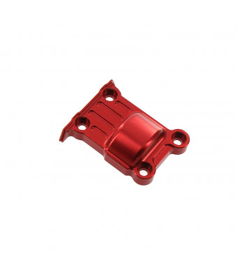 Atomik RC Traxxas X-Maxx Alloy Rear Differential Cover, Red TRX 7787