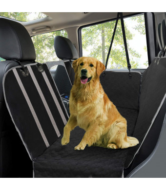 Anti-slip Mat Durable Pet Back Seat Cover Waterproof Scratchproof Pet Protector Pet Seat Cover Hammock For Cars black Automobiles & Motorcycles