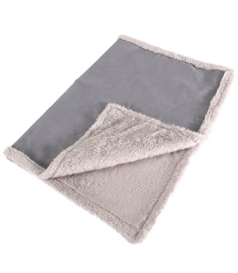 Max and Neo Cozy Premium Faux Suede Fleece Dog Blanket Sofa, Bed, Throw, Crate - We Donate a Blanket to a Dog Rescue Every Blanket Sold