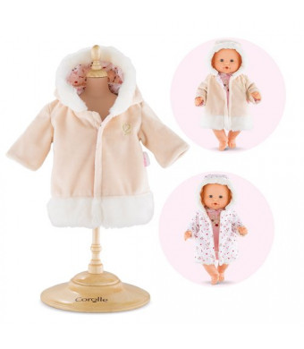"""Corolle Mon Grand Poupon 14"""" Happy Reindeer Coat Toy Baby Doll"""