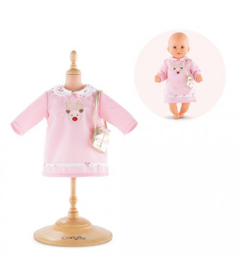 """Corolle Mon Premier Poupon 12"""" Happy Reindeer Dress Toy Baby Doll"""