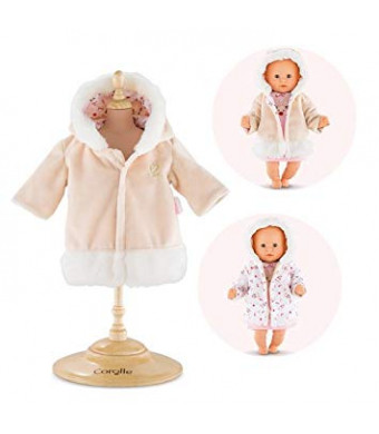 "Corolle Mon Premier Poupon 12"" Happy Reindeer Coat Toy Baby Doll"