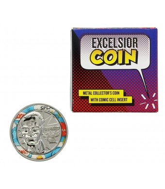 Stan Lee Excelsior Coin Silver