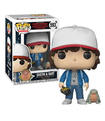 Funko Pop! Television #593 Stranger Things Dustin and Dart (Hot Topic Exclusive)