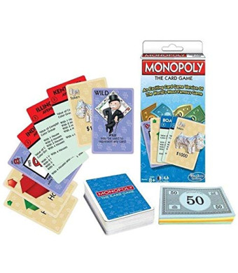 Winning Moves Games Monopoly The Card Game Monopoly and Rummy