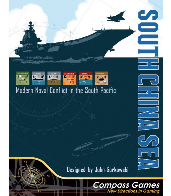 CPS: South China Sea, Modern Conflict in the South Pacific, Board Game