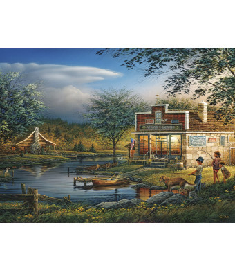 Buffalo Games - Terry Redlin - Summertime - 1000 Piece Jigsaw Puzzle