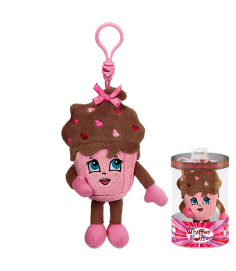 Whiffer Sniffers Shirley Sweet Chocolate Cupcake Scented Valentine's Day Backpack Clip