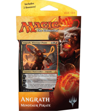 MTG, Rivals of Ixalan, Angrath, Minotaur Pirate, Planeswalker Deck