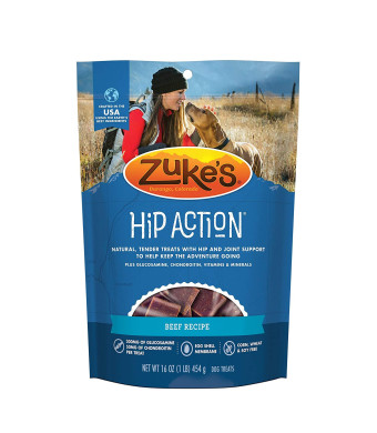 Zuke's Hip Action Hip and Joint Support Dog Treats
