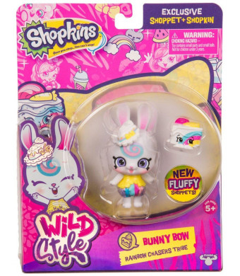 Shopkins Wild Style Bunny Bow Shoppet and Carotta Cake Exclusive