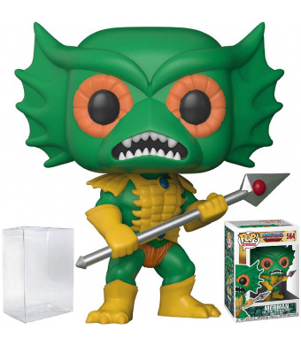 Funko Pop! Television: Masters of the Universe - Mer-man Vinyl Figure (Bundled with Pop BOX PROTECTOR CASE)