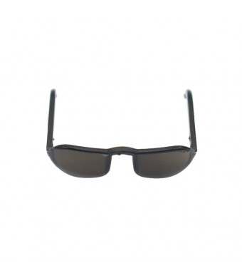 Towashine 1/6 Scale Black Glass Sunglasses Clothes for 12 inches Action Figures 1Pc