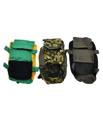 Towashine 3Pcs 1/6 Scale Camouflage Hiking Schoolbag Backpacks for 12 Inch Action Figures Accessories