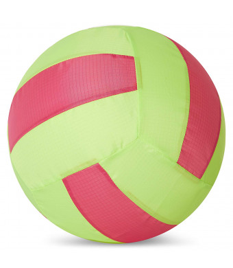 Balloon Skinz Fabric Balloon Cover Sports Play Ball 2-Pack - Includes 10 Latex Balloons (Volleyball 2 pcs)