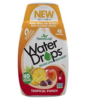 SweetLeaf WaterDrops, Tropical Punch, 1.62 Ounce