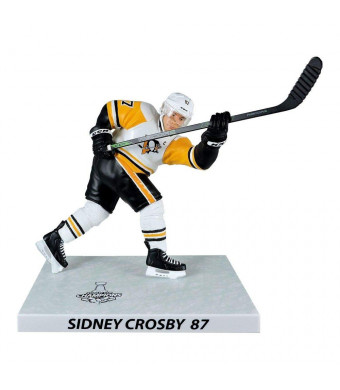 "NHL Sidney Crosby (Pittsburgh Penguins) Stanley Cup Champions Premium Sports Artifacts (PSA), 6"" Hockey Figure"