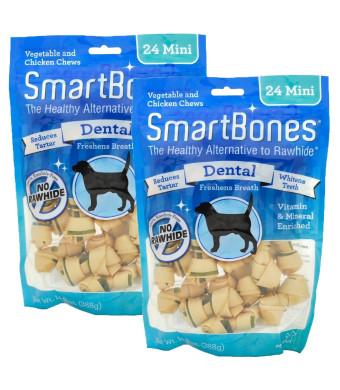 SmartBones Rawhide-Free Dental Dog Chew
