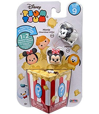 Disney Tsum Tsum Series 9 Mickey (Steamboat Willie) and Mickey 1-Inch Minifigure 3-Pack