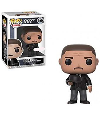 Funko POP! Movies James Bond Goldfinger Oddjob (Hat)