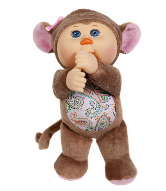 "Cabbage Patch Kids 9"" Syndey Monkey Zoo Cutie"