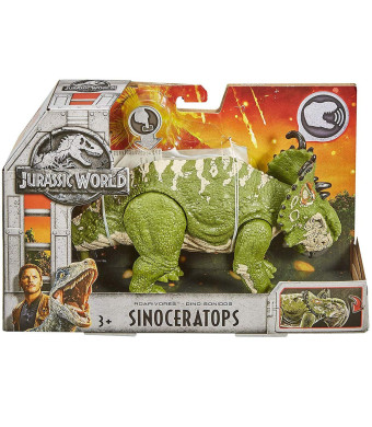 Jurassic World Roarivores Sinoceratops Figure