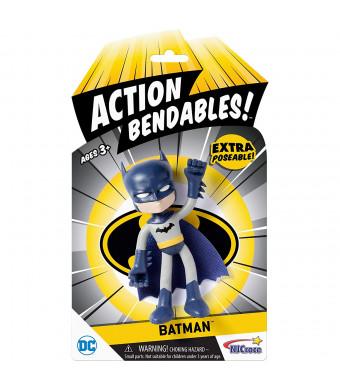 """NJ Croce AB5001 Action Bendables Batman, Figure, 4"""""""