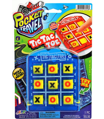 2GoodShop Tic Tac Toe Travel Games for Kids | Item #3256-1