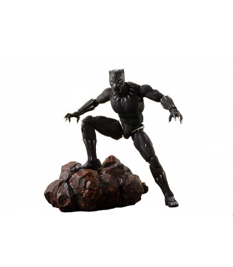 "Tamashii Nations S.H. Figuarts Black Panther and Tamashii Effect Rock ""Avengers: Infinity War"""