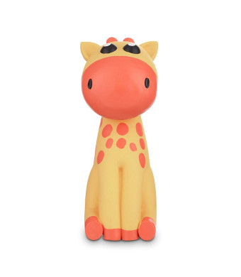 Leaps and Bounds Chomp and Chew Latex Giraffe Dog Toy