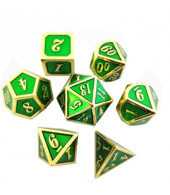 7 Pcs dragons Dice polyhedral and Dice DND RPG MTG Game Dungeons