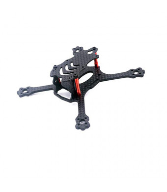 X150 Carbon Fiber Frame FPV Racing Drone Mini Quadcopter Frame Kit with Unique Camera mounting plate Design for 1806 1306 Brushless motor by Crazepony (X110)