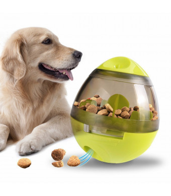 Eshall Pet IQ Treat Ball Fun and Interactive Toy Food Dispensing for Dogs and Cats