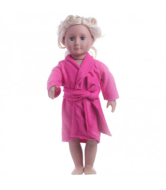 "American girl doll pajamas Clothes and Accessories ,2018 Summer 18"" inch Doll Clothes ,Sweet Pink Sleepwear ,18 inch Dolls for Girls ,Our Generation Doll Clothes (Pink)"
