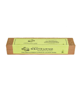 Scratch Lounge The Original Reversible Side Replacement Scratch Pad Refills (Pack of 2)