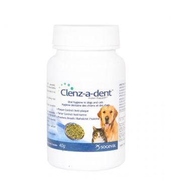 Sogeval CLE06800 Clenz-A-Dent Plaque Off Food Additive, 40 g