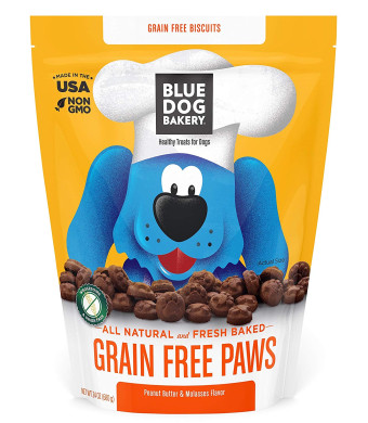 Blue Dog Bakery | Dog Treats | All-Natural | Peanut Butter and Molasses