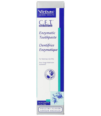 Virbac CET Enzymatic Toothpaste for Dogs and Cats