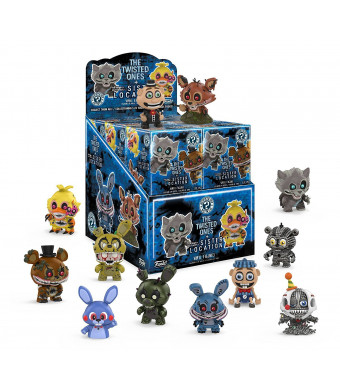 Funko Mystery Mini: Five Nights at Freddy's Series 3 - Twisted Ones and Sister Location Display Box of 12 Action Figures