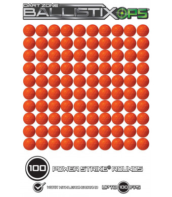 Dart Zone BallistixOps 100-pc Power Strike Round Refill