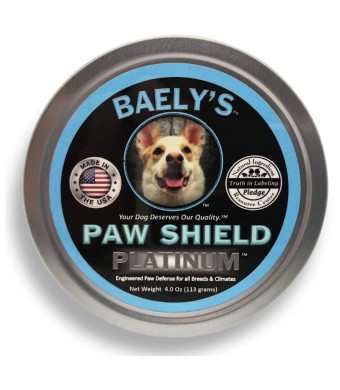 Dog Paw Protection Wax and Snout Nectar | Rejuvenating Relief for Raw Heat Damaged Paws | 3 oz Size | Paw Protector for Mushers | Secret Paw Protection Balm for Ruff Hot Dry Dogs Paws and Noses