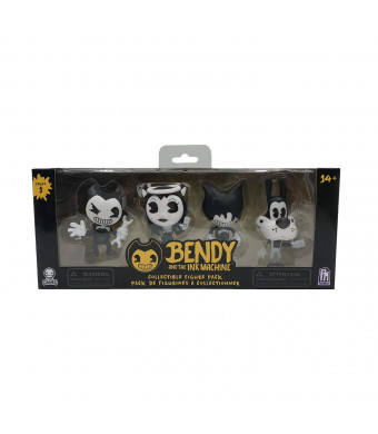 Bendy and the Ink Machine : Collectible Figure Pack (4 Figures)